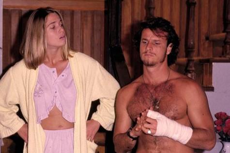 Letícia e Marcello em cena de Quatro por quatro (Foto: Arquivo )