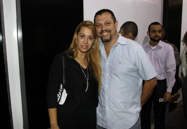Arlete Oliveira e Paulo Martins (Foto: Celso Tavares / Ego)