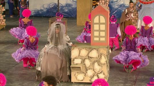 Três quadrilhas juninas se apresentam no primeiro dia do Festival da Globo