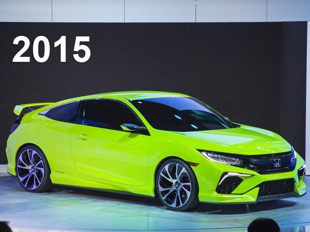 Honda Civic Concept, apresentado no Salão de Nova York (Foto: Divulgação)