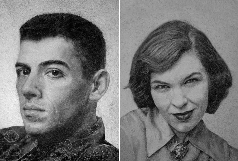 Retratos de falecidos feitos pela alemã