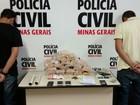 Polícia desmonta esquema de venda de pasta base de cocaína em MG