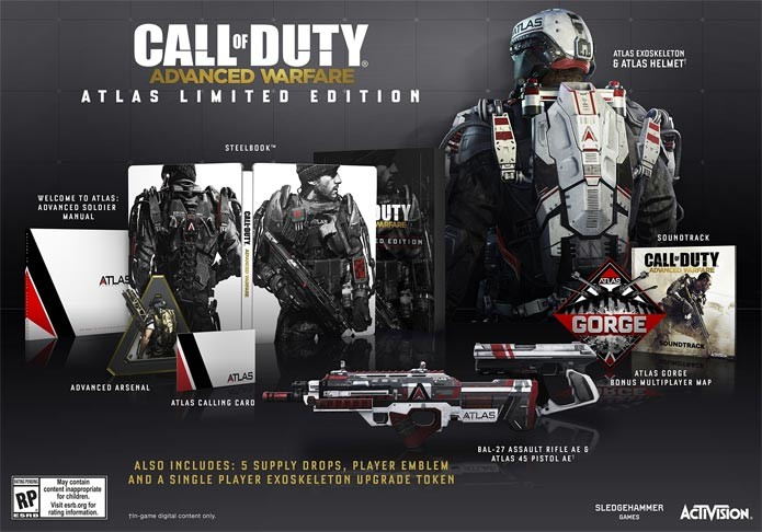 A Atlas Limited Edition do novo Call of Duty (Foto: Divulgação)