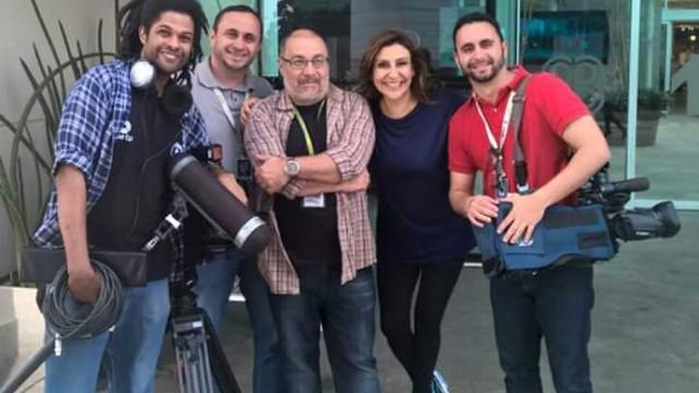 Equipes ficaram juntas durante dois dias (Foto: RBS TV/Divulgação)