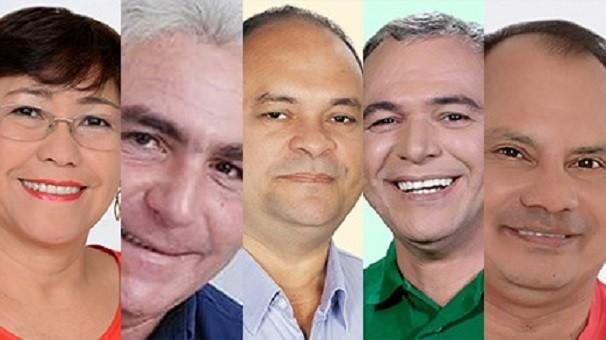 Candidatos à Prefeitura de Santarém (Foto: Montagem/G1 Santarém)