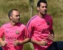No Qatar, Xavi aposta em Iniesta e Busquets para levar Espanha ao Tri