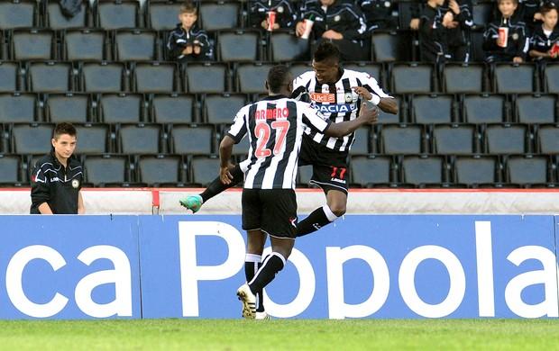 Maicosuel comemora gol da Udinese contra o Pescara (Foto: Getty Images)