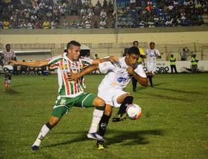 Baraúnas e ABC ficam no empate em 0 a 0 e se complicam no estadual (Foto: Alcivan Costa/Gazeta do Oeste)
