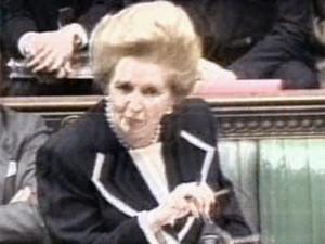 Margaret Thatcher  (Foto: Reprodução)