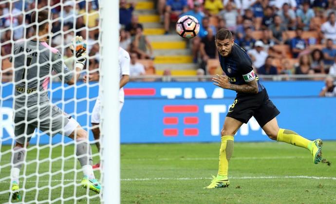 Icardi, Inter de Milão x Palermo (Foto: EFE/EPA/MATTEO BAZZI)