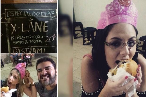 Clientes aprovamo o X-Lane, em compatilham imagens nas redes sociais (Foto: Reprodução/Instagram)