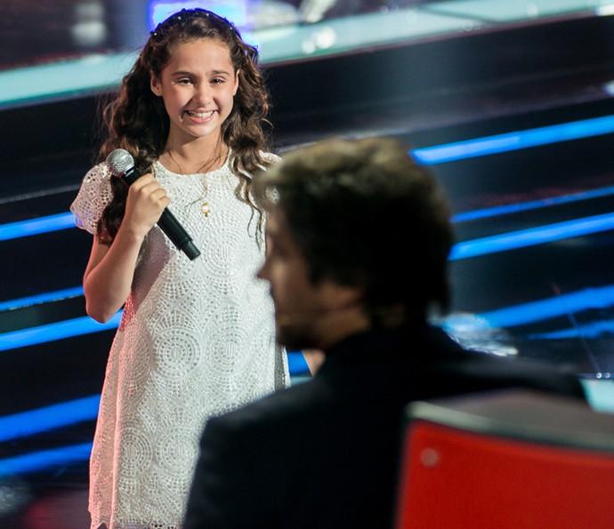 Ana Beatriz conquista Victor & Leo no The Voice Kids (Foto: Isabella Pinheiro/Gshow)
