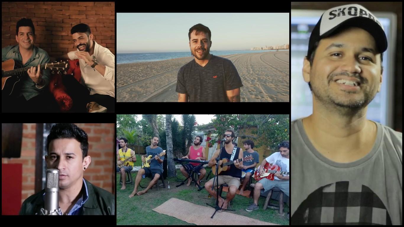 Músicos capixabas que fazem parte do projeto  (Foto: Divulgação/ TV Gazeta)