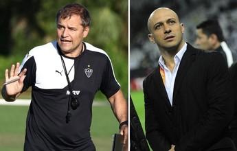 """""""Bem, Amigos!"""" recebe Alessandro, coordenador do Corinthians, e Aguirre"""
