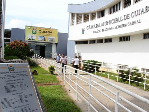 Câmara Municipal de Cuiabá (Foto: Luiz Alves/Secom Câmara)