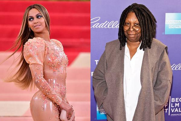 Beyoncé e Whoopi Goldberg (Foto: Divulgação)