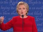 Nos EUA, pesquisas mostram Hillary Clinton seis pontos à frente de Trump