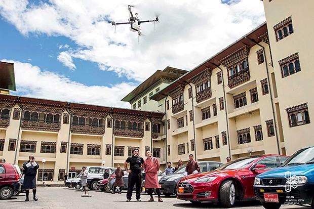 Drones: a ajuda que vem do céu