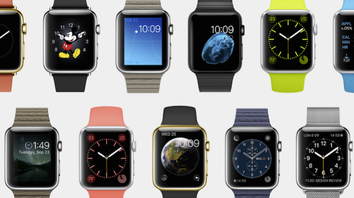 2affe4ca955 Apple Watch em diversos cores e modelos (Foto  Divulgação Apple) (Foto  Cristal de safira da tela ...