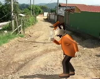 Zé do Bairro voltou pela 3ª vez a Sossego II, em Piraí (Foto: Reprodução/ RJTV 1ª Edição)