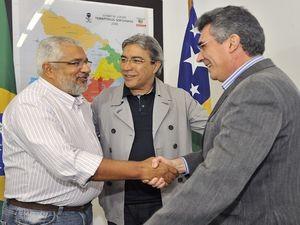 Governador de Sergipe anuncia novo secretário da saúde (Foto: Marcelle Cristinne/ASN)