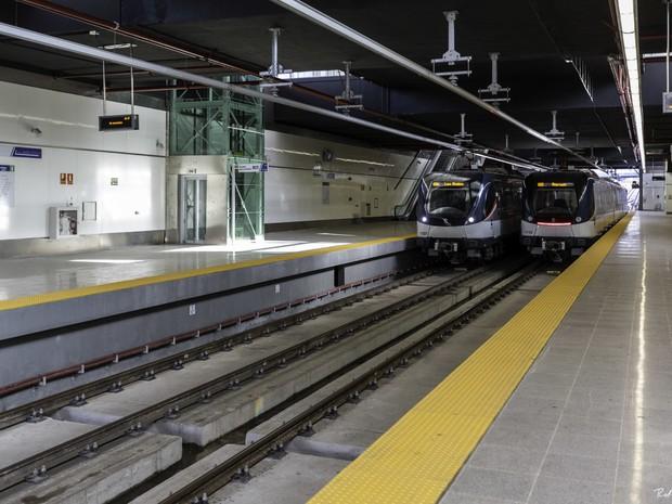A Linha 1, construída pela Odebrecht e inaugurada em 2014, tem 15,8 quilômetros e 14 estações que cortam a cidade do Panamá de norte a sul (Foto: Divulgação)