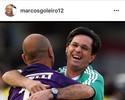 Ex-jogadores do Palmeiras fazem homenagem ao técnico Caio Júnior