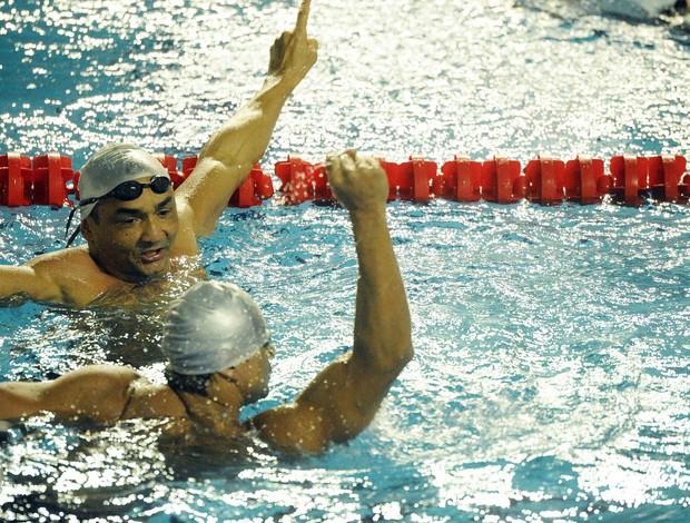 Francisco Avelino, nadador potiguar, disputa as Paralimpíadas de Londres (Foto: Bruno de Lima/FOTOCOM.NET/CPB )