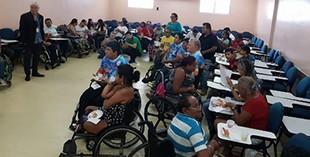 Cursos de Engenharia da UniNorte promovem ação social para pessoas com deficiência (Foto: Divulgação)