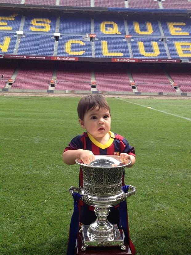 Milan, filho de Shakira (Foto: Facebook / Reprodução)
