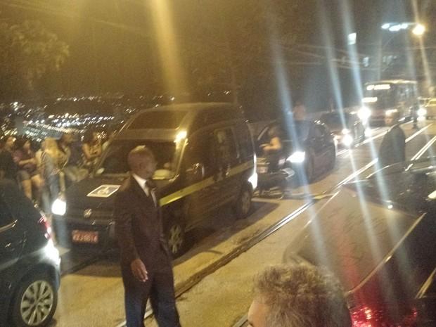 Trânsito durante o casamento de Preta Gil e Rodrigo Godoy em Santa Teresa, no Centro do Rio (Foto: Léo Martinez/ EGO)