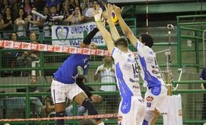 Cruzeiro Vôlei x Vôlei Taubaté Superliga (Foto: Rafinha Oliveira/Funvic Taubaté)
