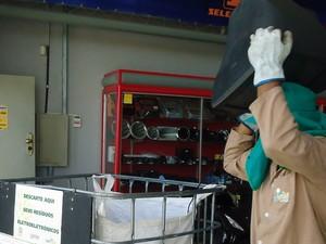 Descarte de resíduos eletrônicos é feito em vários pontos de Petrolina, PE (Foto: Taís Farias / Arquivo pessoal)
