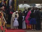Papa chega em Uganda para segunda fase da viagem à África
