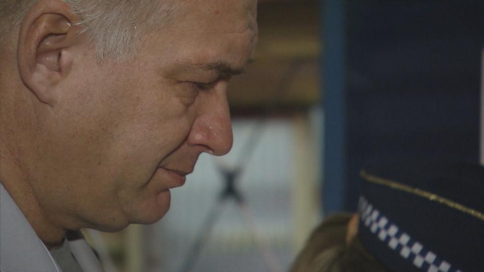O sargento da PM, Daniel Quezado (Foto: TV Globo/Reprodução)