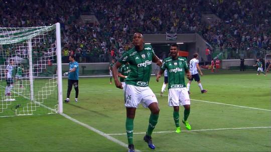 Atuações do Palmeiras: Willian entra no lugar de Borja e marca; Mina é destaque