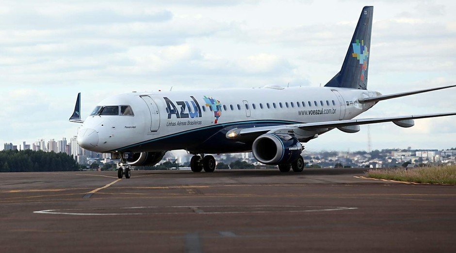 Avião da Azul: descontos para quem viajar sem bagagem (Foto: Divulgação)