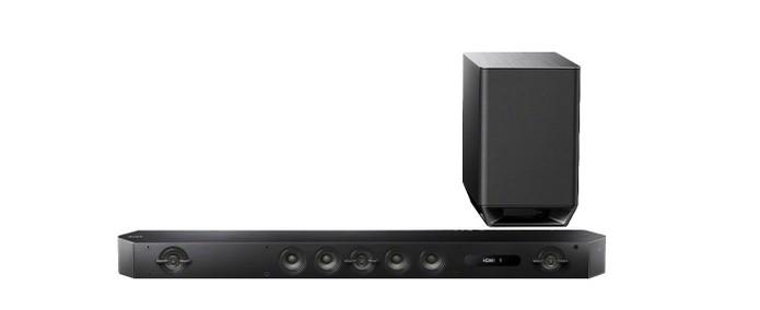 Sony HTST9 possui 800w de potência (Foto: Divulgação/Sony)