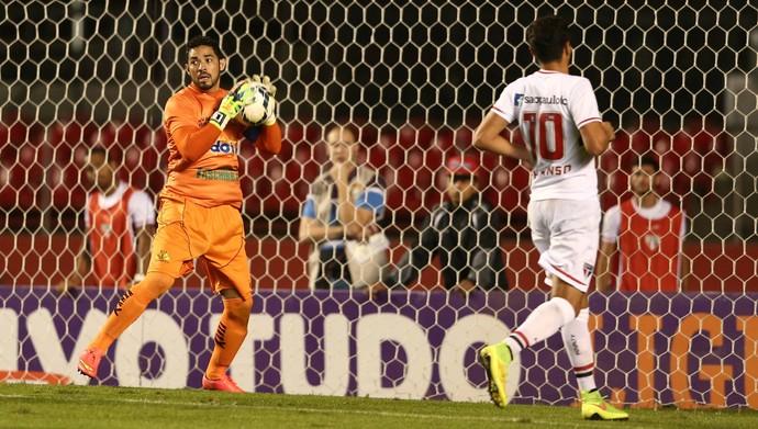 Luiz São Paulo Criciúma  (Foto: Marcos Ribolli/GloboEsporte.com)
