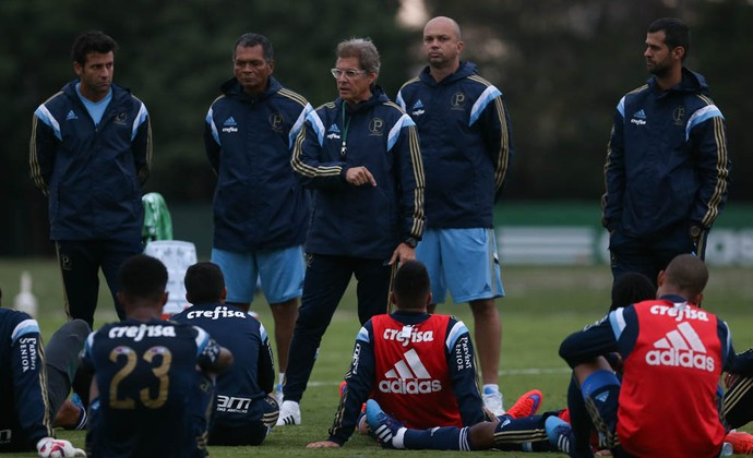 Oswaldo de Oliveira Palmeiras (Foto: Cesar Greco/Ag Palmeiras/Divulgação)