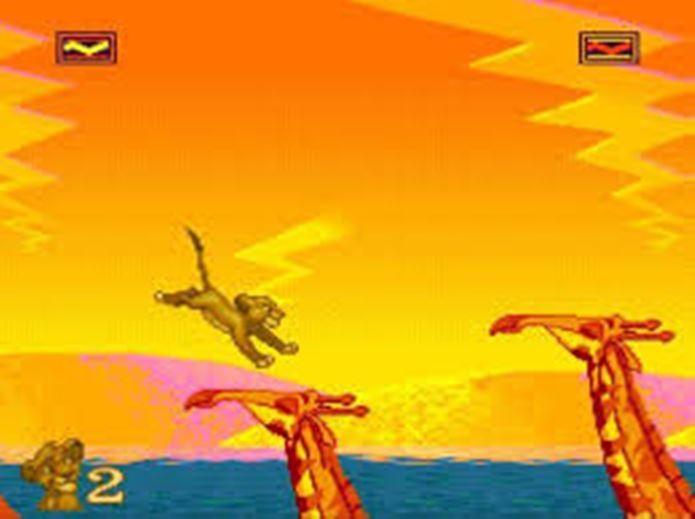 The Lion King era bonito, mas tinha dificuldade elevada (Foto: Reprodução / Gamingbus)