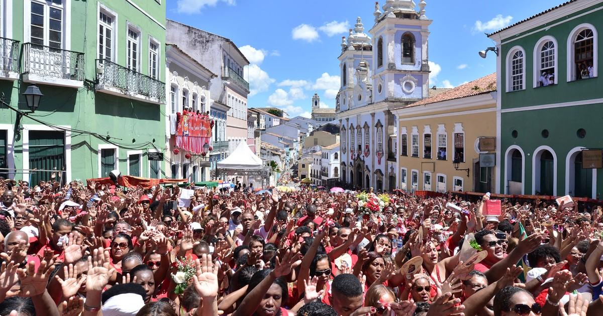 Festa à Santa Bárbara reúne multidão na BA: 'Estarei aqui enquanto ... - Globo.com
