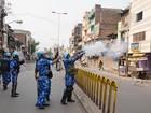 Cerca de 40 pessoas são presas após confrontos religiosos na Índia