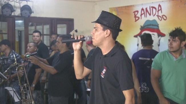 Marchinha oficial foi apresenteada durante o lançamento (Foto: Bom dia Amazônia)
