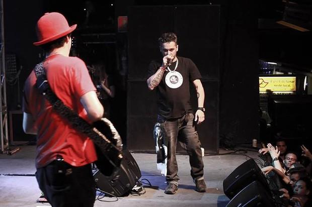 Último show da banda A Banca (Foto: Facebook/Reprodução)