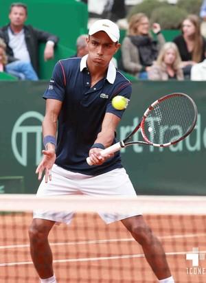 Thiago Monteiro na final do challenger de Aix-en-Provence (Foto: Divulgação / Facebook)