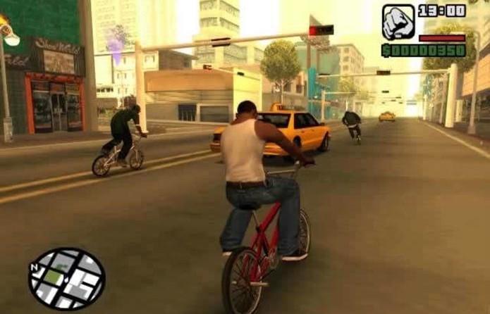 GTA San Andreas chega ao PS3 (Foto: Reprodução)