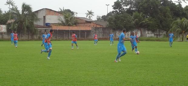 Paysandu realizou apenas um coletivo antes do clássico contra o Clube do Remo (Foto: Pedro Cruz)