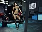De lingerie, Thaila Ayala faz ensaio sensual para revista: 'Estou corpuda'