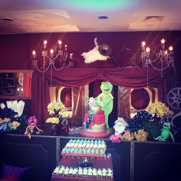 Detalhe da decoração da festa das filha de Rodrigo Faro (Foto: Reprodução/Instagram)